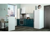 Кухня Виста (ваниль глянец, океан глянец) 2.2 м