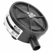 """Фильтр воздушный для компрессора (1/2"""", бумажн. фильтроэлемент, корпус - пластик) (ECO) (AEF-12P)"""