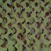 Маскировочная сеть Экон- М (зеленый-коричневый) ширина 1,5 метра. Цена за погонный метр.