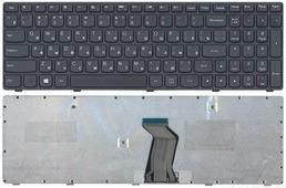 Клавиатура для ноутбука Lenovo G500, G505, G505A, G510, G700, G700A, G710, G500AM, G7, черная с черной рамкой