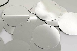 """Пайетки """"Ideal"""", цвет: серебряный (1), 30 мм, 50 г"""
