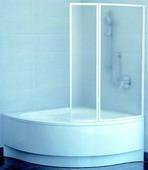 Шторка на ванну Ravak VSK2 Rosa L/R 150 полистирол Rain