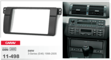 Переходная рамка для установки магнитолы CARAV 11-498 - BMW 3 серии (E46) 1998-2005 - 2Din