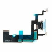 шлейф с разъемом зарядки для Apple iPhone XR, голубой iPhone XR