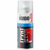 Грунт для пластика KUDO, активатор адгезии, прозрачный, аэрозоль, 520 мл