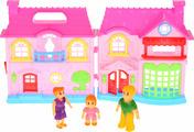 """Дом для кукол со светом и звуком, с набором аксессуаров. ТМ """"Играем вместе"""""""