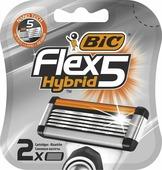 Сменные кассеты для бритья BIC Flex 5 Hybrid, 2 шт