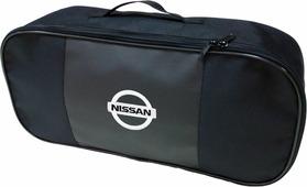 """Набор аварийный в сумке """"Auto Premium"""", с логотипом """"Nissan"""" + жилет светоотражающий, размер XL. 67455"""