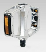 Педали алюминиевые Vinca sport VP 916 silver
