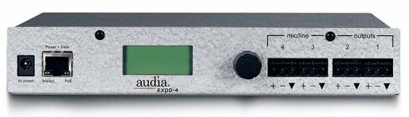 BIAMP AudiaEXPO-4 Модуль расширения: вход CobraNet на 4 line аналоговых выходов