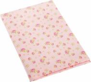 """Ткань для пэчворка Артмикс """"Розы в стиле шебби шик"""", цвет: розовый, зеленый, 48 x 50 см"""