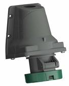 Розетка для монтажа на поверхность easy&safe 332ers2w, 32a, 3p+e, ip67, 2ч ABB, 2CMA101240R1000