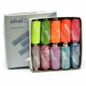 """Набор швейных ниток """"Ideal"""", №40, цвет: мультиколор (MIX BT), 366 м, 10 шт"""