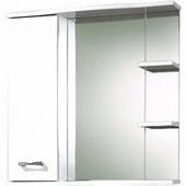 Зеркало со шкафом Акваль Шкаф с зеркалом Ника 70 [AN.04.70.00.L]