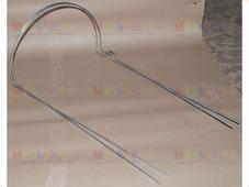 Кустодержатель круглый металл, малый h60, d50 см (комплект из 2х полудуг)