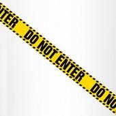 Магнитная лента для холодильника «Do not enter»