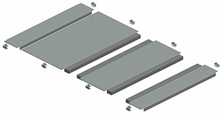 Сальниковые панели 3-х мод. плата каб. ввода sf 600x800 Schneider Electric