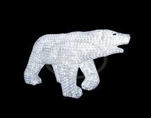 "Фигура Neon-night ""Белый медведь"" 100 см"
