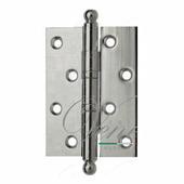 Петля дверная универсальная латунная Venezia CRS010 102 мм полированный хром