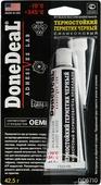 """Герметик термостойкий """"Done Deal"""", силиконовый, цвет: черный, 42,5 г"""