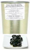 Mylos plus S.S.Mammoth Оливки чёрные без косточки, 4,326 л (вес основного продукта 2 кг)