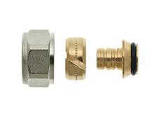 Thermotech Комплектный фитинг для пластиковой трубы G15 (арт. 76116) для теплого пола