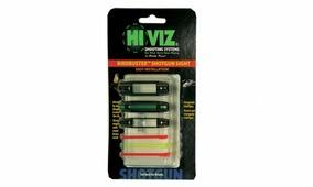Мушка универсальная HiViz «BirdBuster Magnetic Sight», зелёный/красный