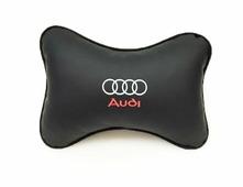 """Подушка на подголовник Auto Premium """"Audi"""", цвет: черный"""