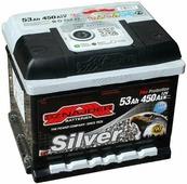Автомобильный аккумулятор Sznajder Silver (53 A/h), 450A R+