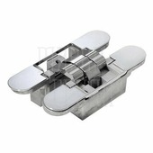 Morelli Luxury Скрытые петли MORELLI с 3-D регулировкой HH-16 40/60 кг полированный хром
