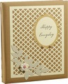Фотоальбом Белоснежный цветок и сетка, 3724975, мультиколор, на 100 фото, 32,5 х 27,5 х 4 см