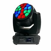Involight LEDMH1930 - LED вращающаяся голова 19x30 Вт RGBW 4в1, Зум 4°-60°