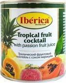 Фруктовые консервы Iberica Тропический фруктовый коктейль с соком маракуйи, 425 мл