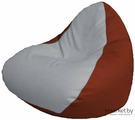 Кресло-мешок Flagman Relax P2.3-56 белый/красный