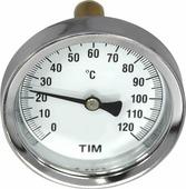 Термометр с погружной гильзой TIM, 120, MP-У