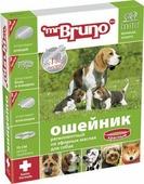 """Ошейник для собак """"Мистер Бруно"""", репеллентный, цвет: красный, длина 75 см"""