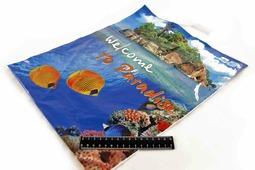Пакет с петлевой ручкой 44*37-43 Райский отдых, Тико.0845/42