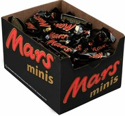 Mars minis шоколадный батончик, 1 кг