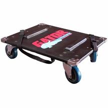 GATOR GA-100 - тележка для транспортировки рэков, на колесах, 2 ремня
