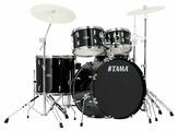 TAMA SG52KH6-BK STAGESTAR ударная установка из 5-ти барабанов (цвет - BLACK) со стойками (бочка 16х22, томы 7x10, 8х12 напольный 14х16, малый 5х14) со стойкой для малого барабана, стойкой для хай-хэта, стойкой под тарелку, наклонной стойкой под тарелку, п
