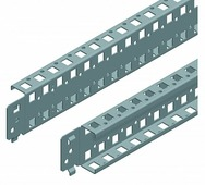 Рейки для шкафов Двухрядные стандартные поперечные рейки 600мм(1уп=2шт) Schneider Electric