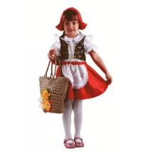 Батик Костюм Красная шапочка (текстиль) р.32 (рост 122 см)