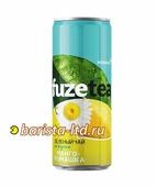 FuzeTea Чай зеленый чай Манго Ромашка 330 мл банка