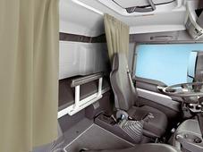 Комплект автоштор Эскар Blackout - auto SK, бежевый, 2 шторы 120 х 160 см, гибкий карниз 3 м