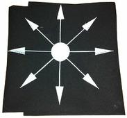 Скатерть для Таро Звезда Хаоса