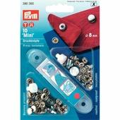"""Кнопки """"Мини'"""" латунь 8 мм 10 шт серебристый Prym 390360"""