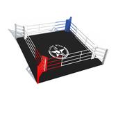 Боксерский ринг LONE STAR напольный (6x6, черный)