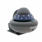 Компас с конической картушкой Ritchie Navigation Sport X-10-A серый/синий 51 мм 12 В большие цифры устанавливается на кронштейне