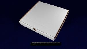 Коробка под пиццу 300*300*40 белая.9015/15re