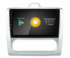 Штатная магнитола Roximo S10 RS-1702A для Ford Focus 2, S-max (Android 9.0)